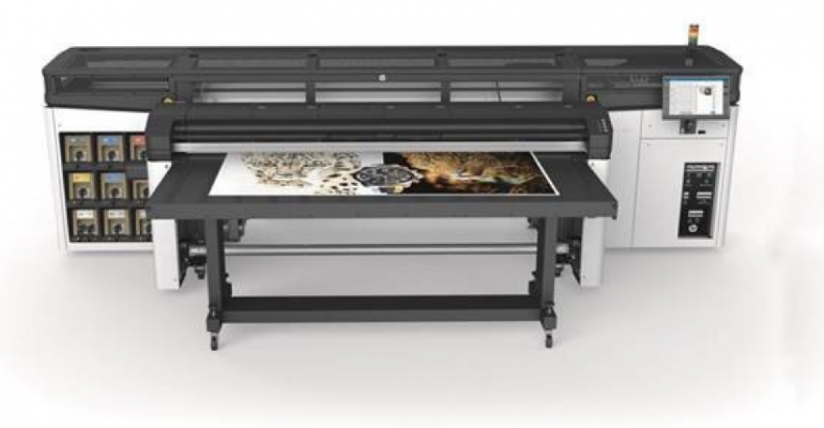Impressora com tinta HP látex