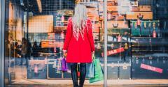Como lojas em ruas podem usar a vitrine como anúncio?